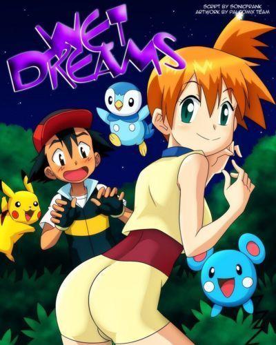 mojado sueños (pokemon) palcomix