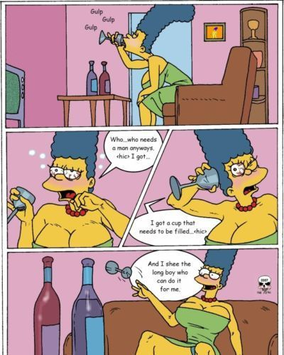 Simpsons- Marge Exploited