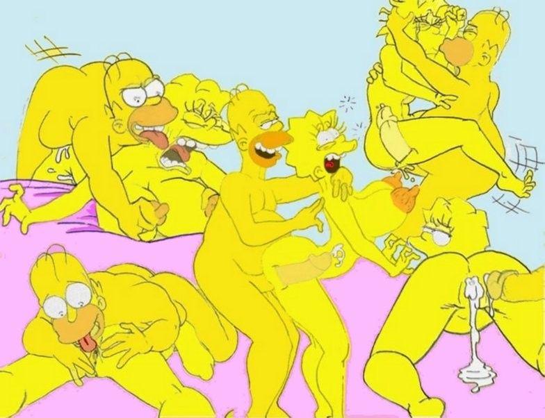 Porno simpsons The Simpsons