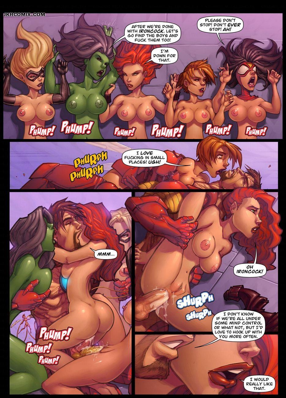 Assvengers 1 في Comicsporn Net