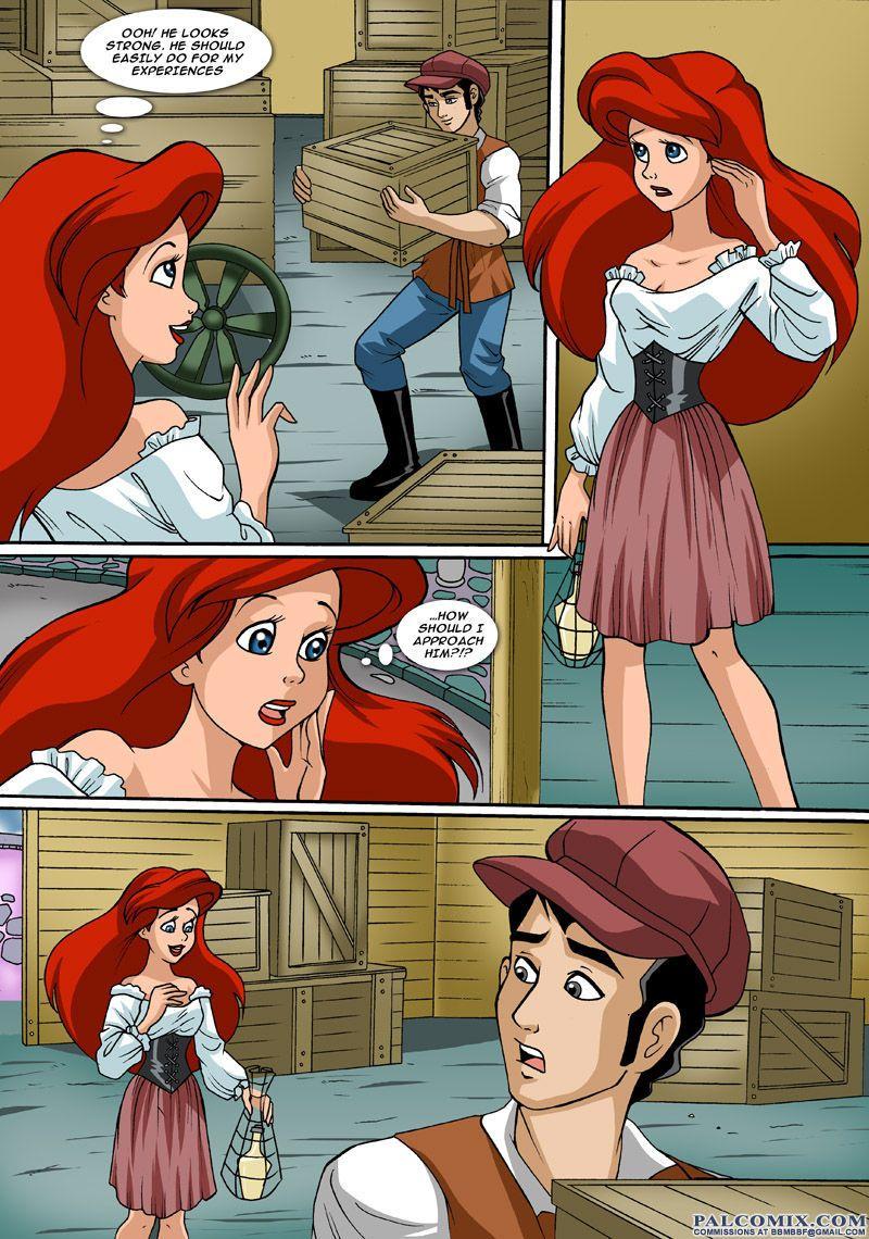 Ariel die meerjungfrau hentai