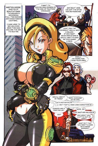 Maxiboobs Impact (King of Fighters)- Parodias 3X