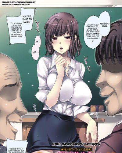 Kobayashi Youkoh OnnaKyoushi Marikou no Gogo - Female Teacher Marikou