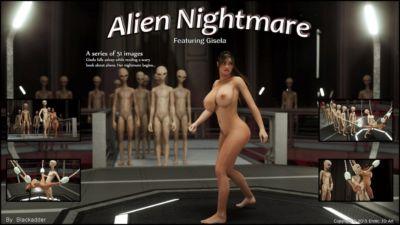 Erotic 3D Art – Alien Nightmare