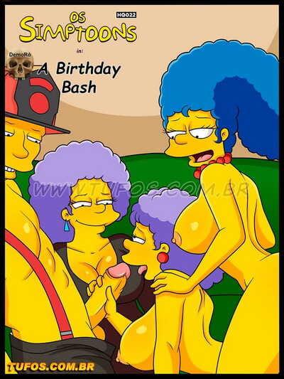 Os Simptoons 18 – The Birthday Bash
