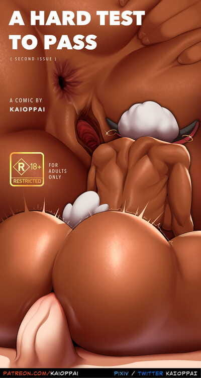 KaiOppai- A Hard Test to Pass Issue 3