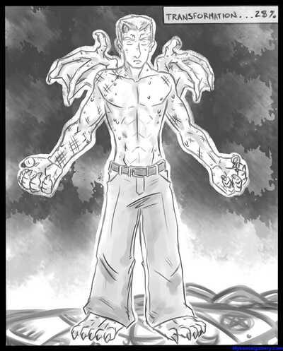 Red Dragon Transformation
