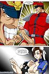 Chun-lis Combat [Palcomix]