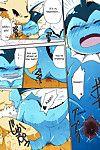 Azuma Minatu Epic plan for an exciting bath! (Pokémon) Colorized {SuperRamen} - part 2