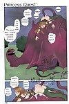 Toshiki Yui Princess Quest Saga chapter ( & colored)