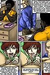 Prison Control- illustrated interracial