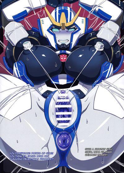 (COMIC1☆9) [Choujikuu Yousai Kachuusha (Denki Shougun)] Strong Girls (Transformers)  =TLL + CW=