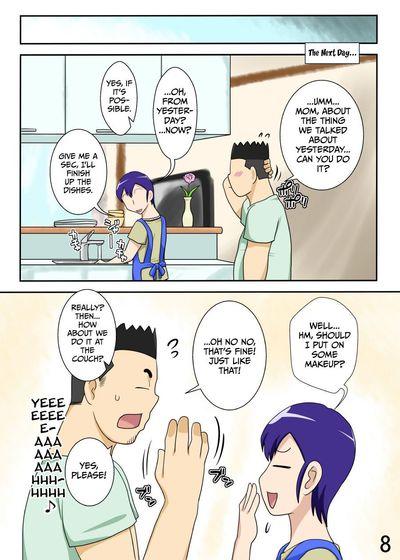 [Freehand Tamashii] Yome ga Hataraiteru Aida, Okaasan ga Suru Kubiwa. - While My Wife