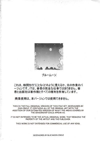 C84 Kamogawaya Kamogawa Tanuki Houra Saki 777 Scans - part 2