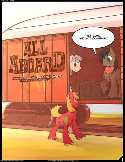 [braeburned] Tất cả những lên tàu (my Nhỏ pony: tình bạn là magic)