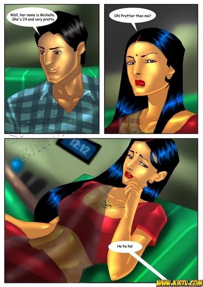 Savita Bhabhi 4 - Visiting Cousin - part 2