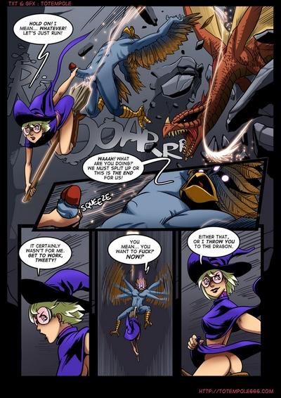 The Cummoner 7 - Burn The Witch - part 2