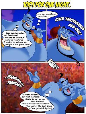 CartoonReality- Aladdin-1001 For One Night