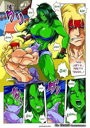 DR.Zexxck- Alex vs. She Hulk