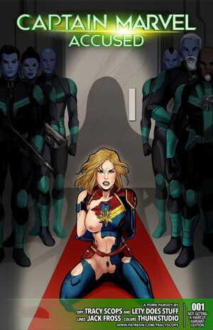 Tracy Scops- Captain Marvel Accused