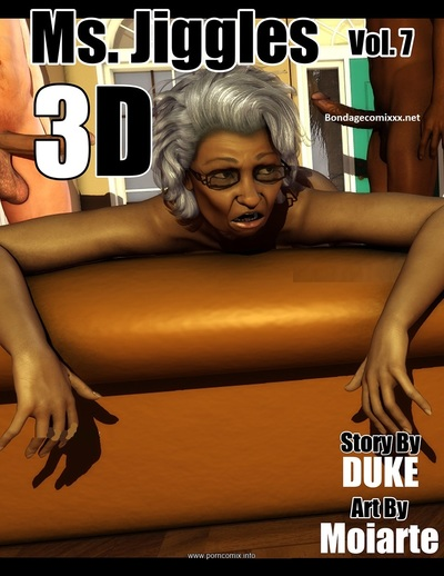 Ms Jiggles 3D - Vol 7- Duke Honey