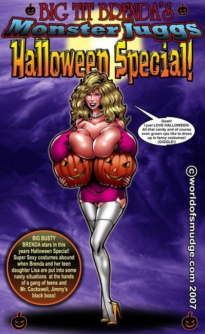 Brenda halloween specialsmudge