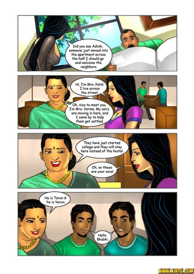 Savita Bhabhi 16 - Double Trouble 1