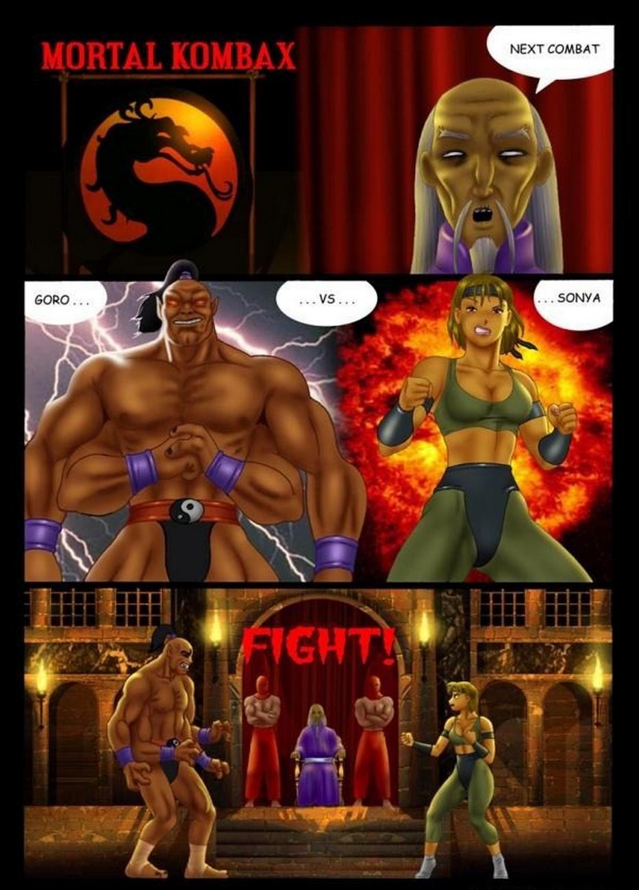Goro vs Sonya