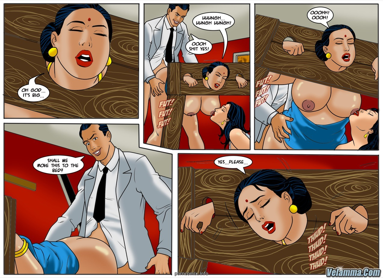 Velamma 57- 50 Shades of Savita - part 2