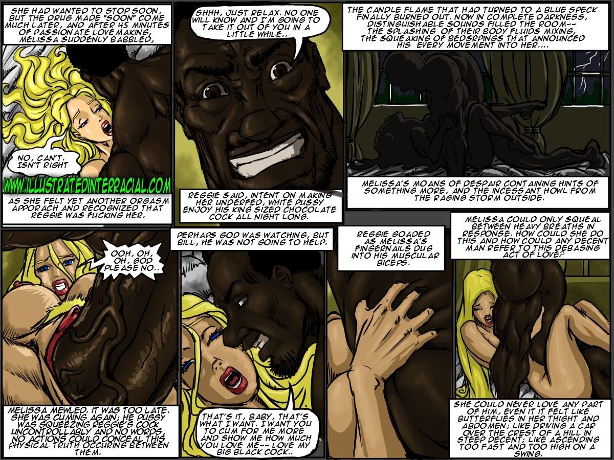 Illustrated interracial- New Parishioner - part 2