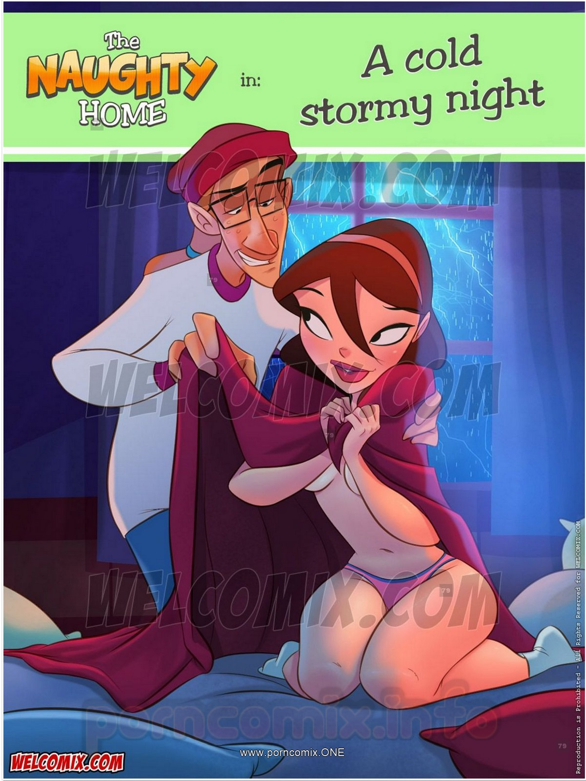 Welcomix-Naughty Home 21- Cold Stormy Night