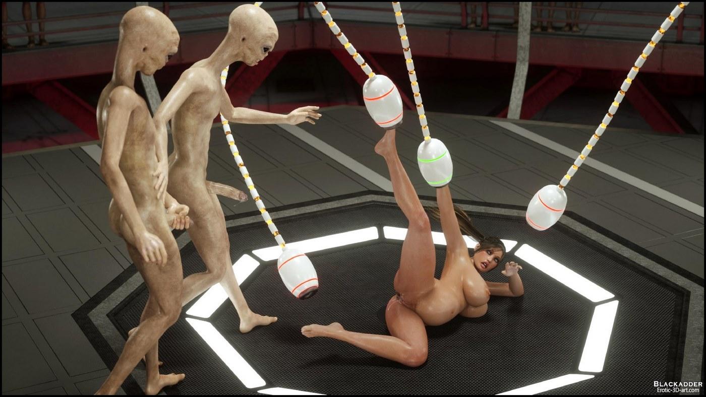 Erotic 3D Art (Blackadder) - Alien Nightmare - part 4