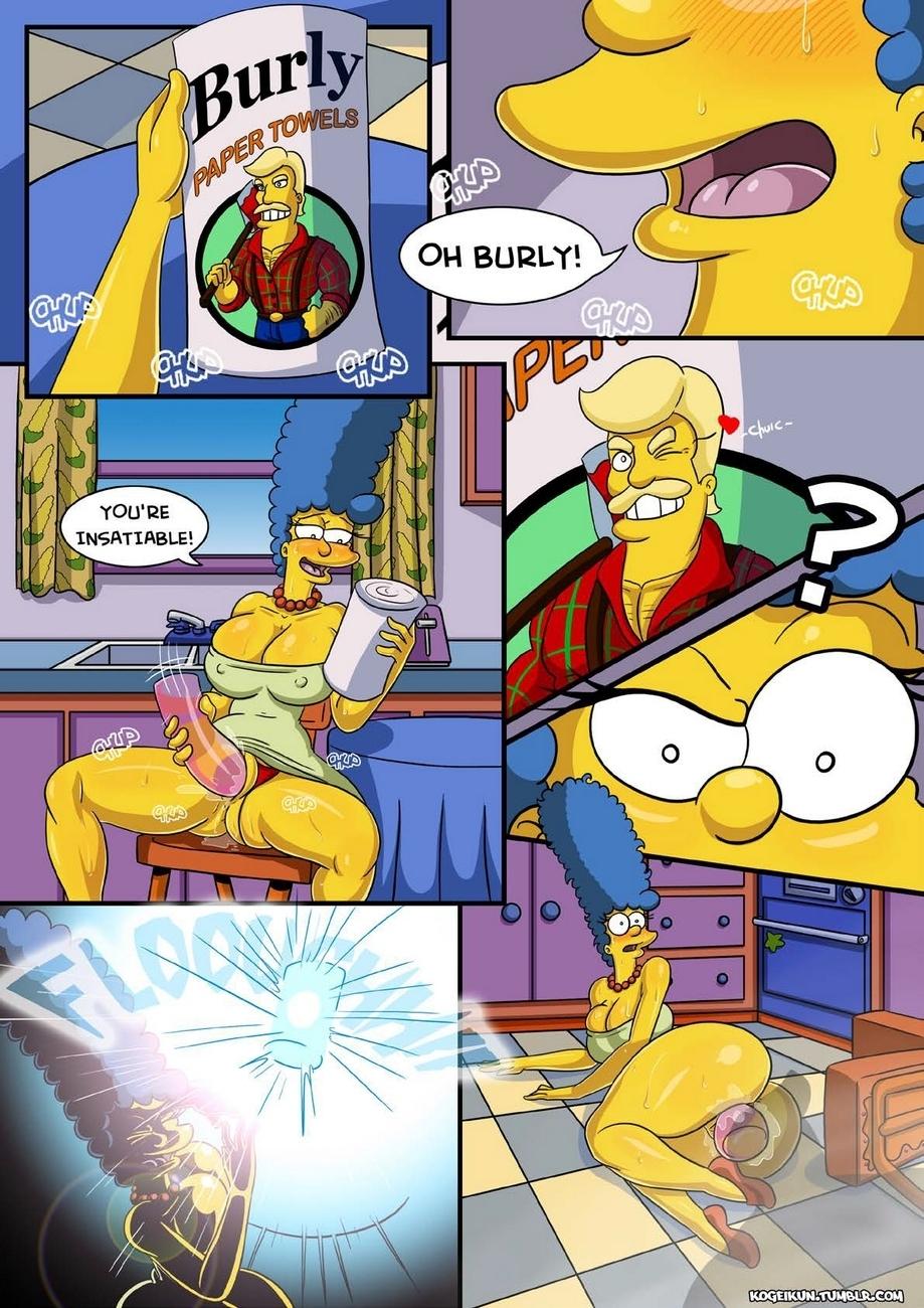 Marge\'s Erotic Fantasies