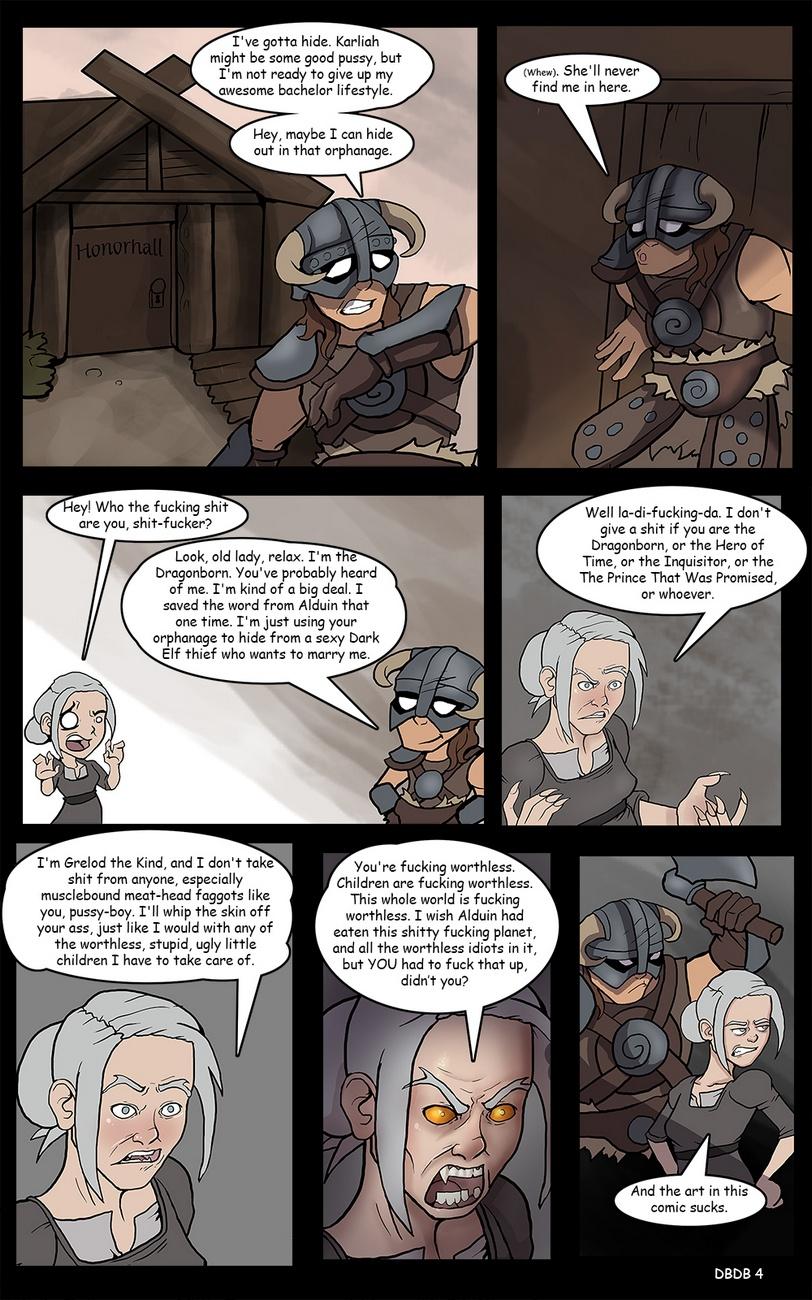 Dragonborn And The Dark Brotherhood