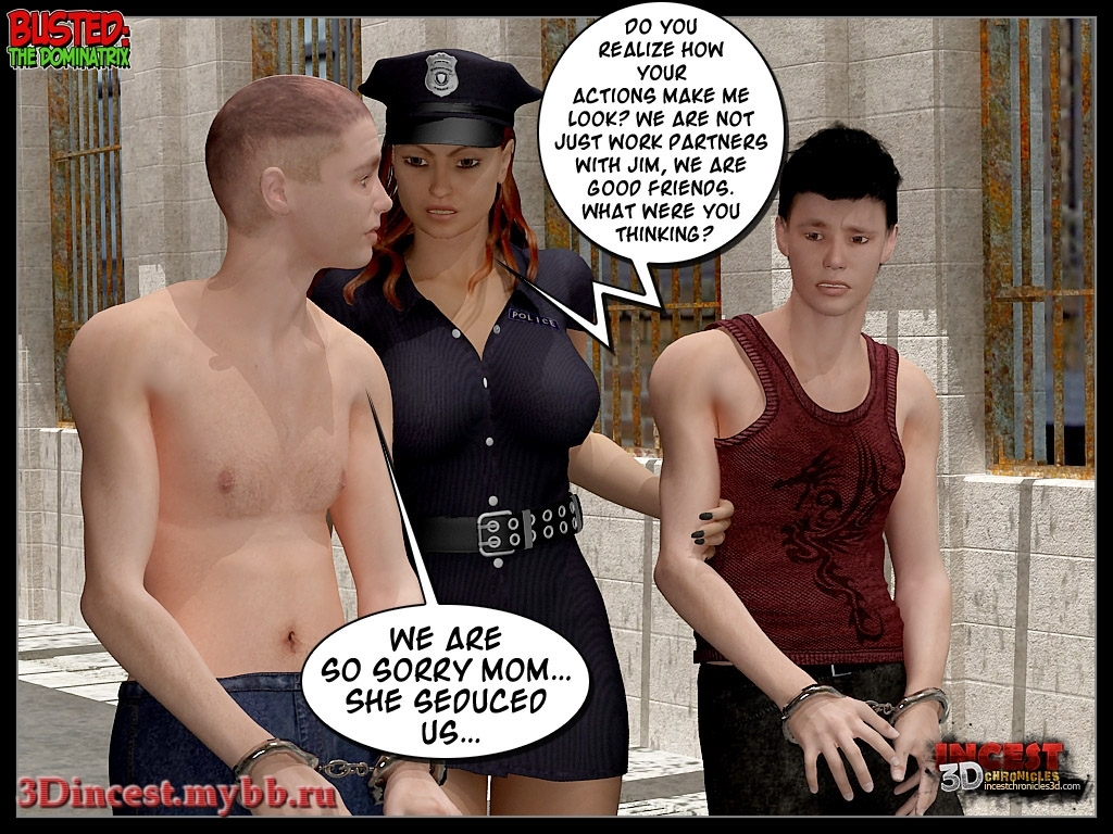 Busted 2 - The Dominatrix