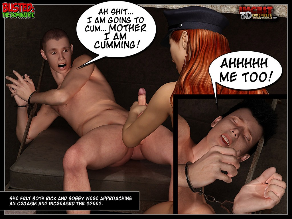 Busted 2 - The Dominatrix - part 4