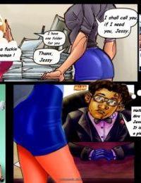 Interracial3D- Jennifer the Secretary