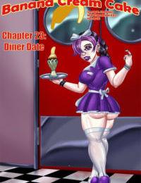 Transmorpher DDS- Banana Cream Cake 23- Diner Date