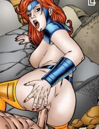 Leandro- Jean Grey Gold Team POV Sex