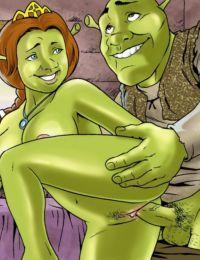 Drawn Sex- Shrek's Dreamland