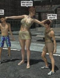 3D Incest- Mom And Her Bad Boy