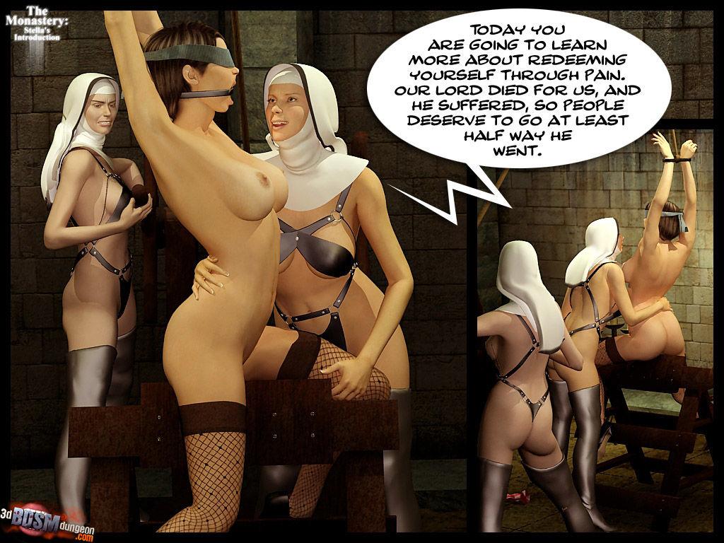 3dBDSMdungeon- The Monastery – Stella's Introduction