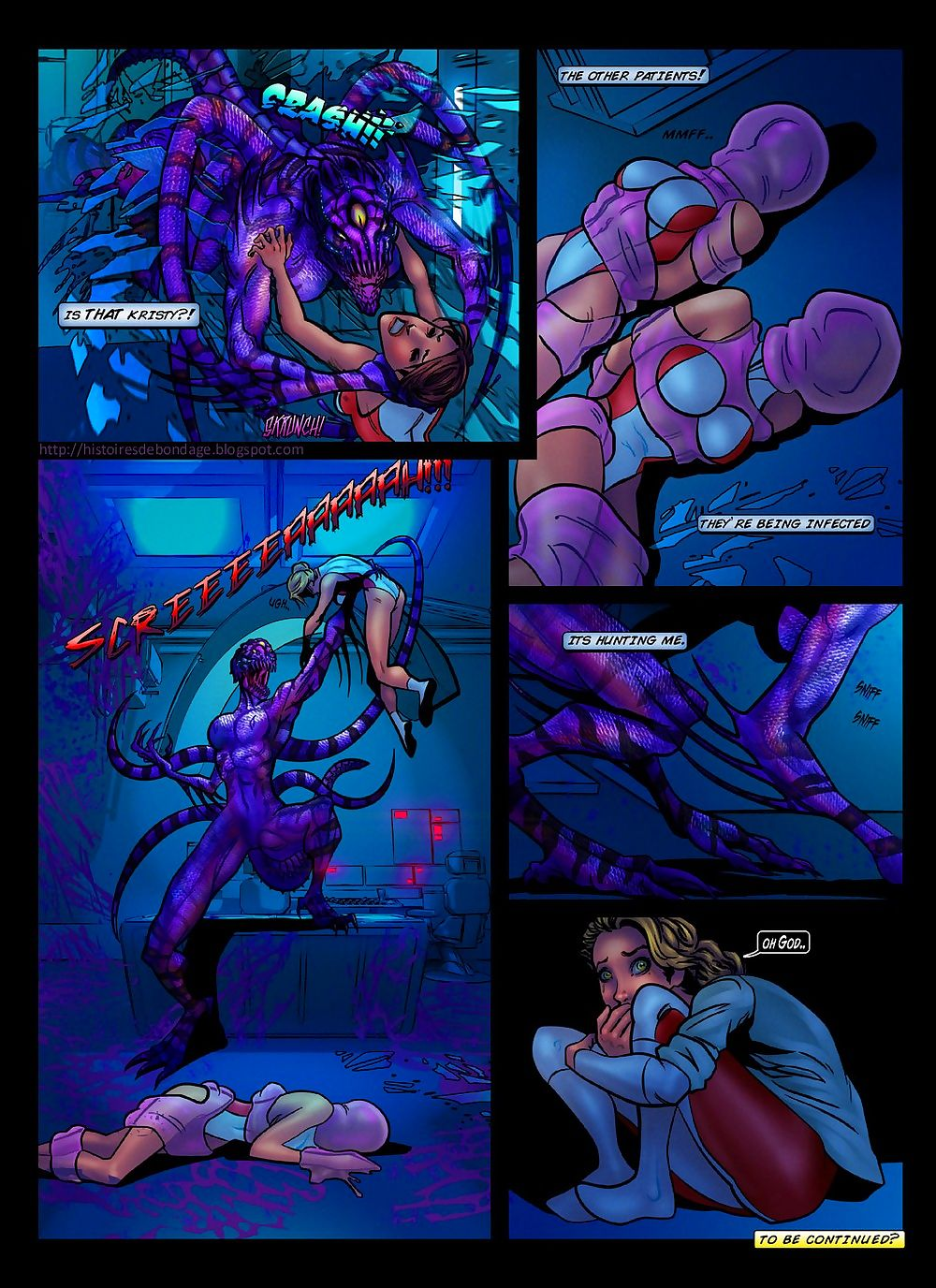 The Space Asphyx Monster