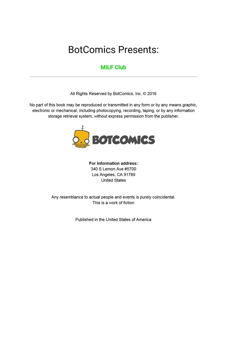 Botcomics- MILF Club 1