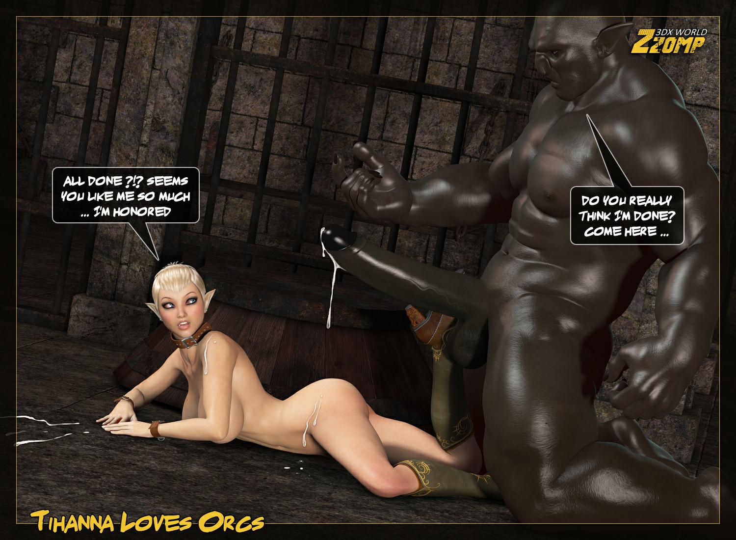 Zzomp- Tihanna loves Orcs Queen Is Back - part 5
