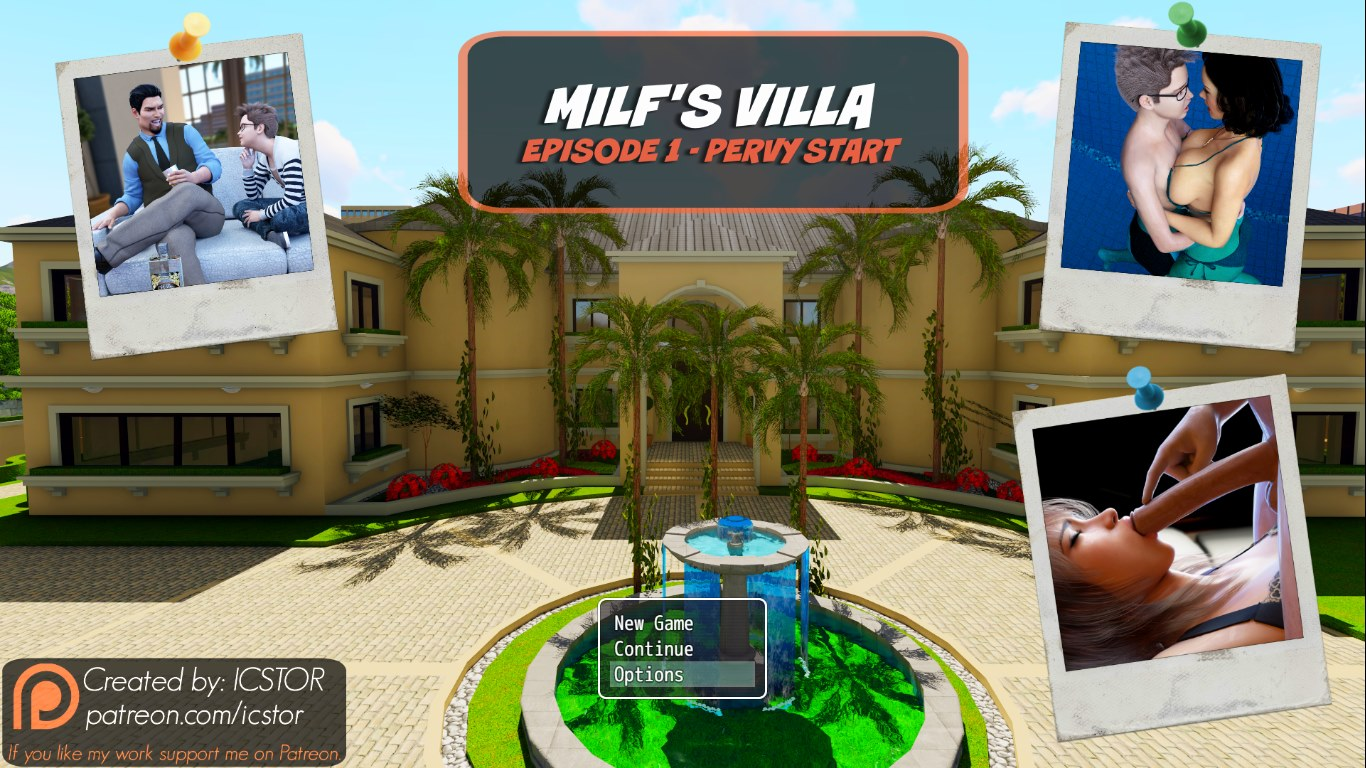 Brother- Sister Milf\'s Villa - Ellis