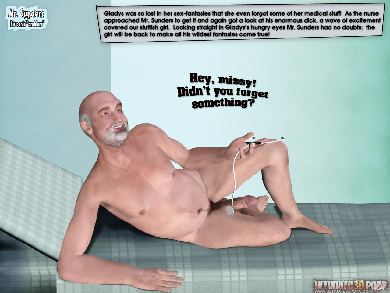 "Mr. Sunders- Penis ""Problem"" - part 3"