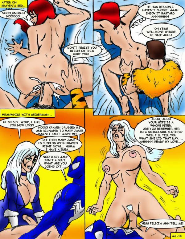 Mary Jane XXX (Spider-Man)- Wolverino - part 2