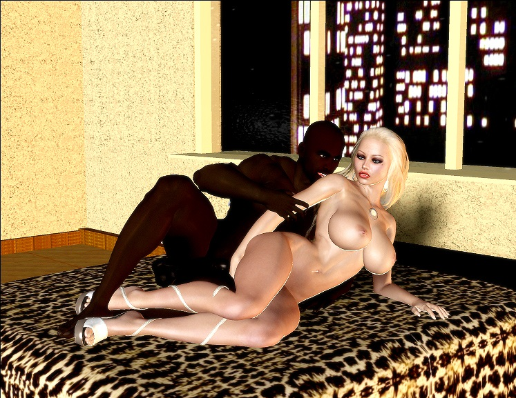 Jenna\'s Black Dick Riding- BNW 3D - part 2