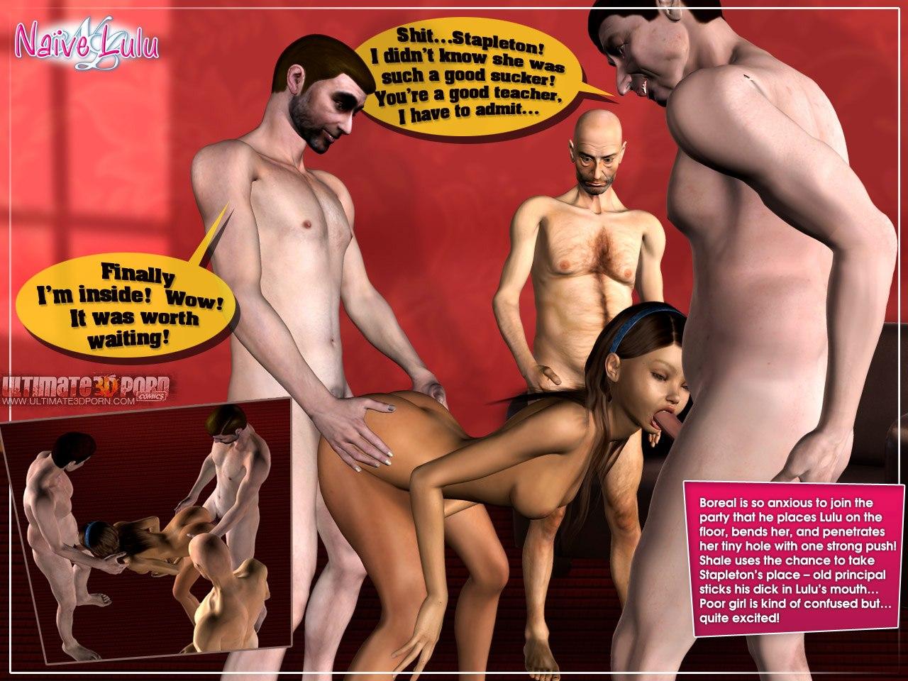 Naive Lulu 1- Ultimate 3D Porn - part 5